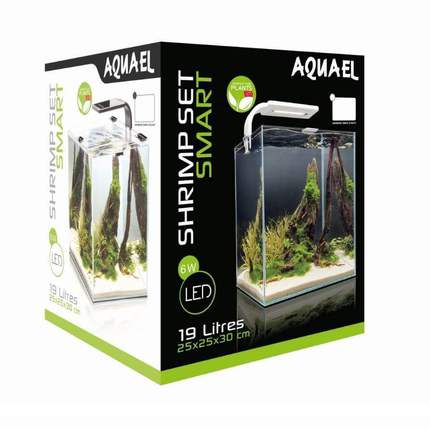 AQUAEL SHRIMP SET SMART PLANT II 19 литров, белый