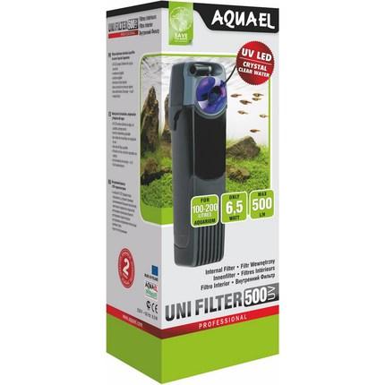 Внутренний фильтр UNI FILTER 500 UV + УФ