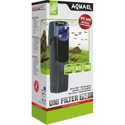 Внутренний фильтр UNI FILTER 750 UV + УФ