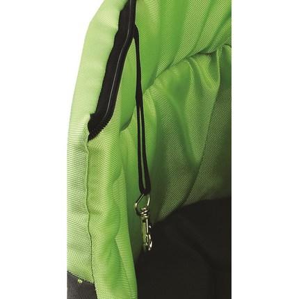 COMFY Переноска LILLY_S с зелеными вставками (35х20х24 см)
