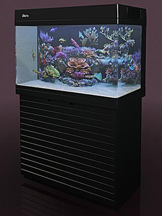 Аквариум MAX C-250 рифовая система - черный (аквариум и тумба)