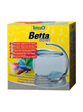 Аквариум круглый Betta Bowl (серебро) 1.8л