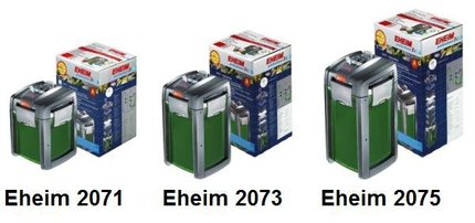 Фильтр внешний EHEIM 2075 professional 3 (с наполнителями)