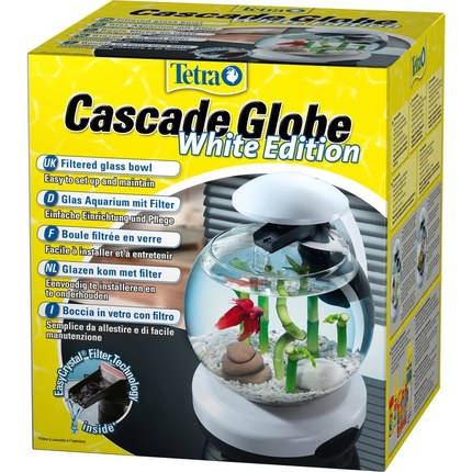 Аквариум круглый Cascade Globe (белый) 6.8л