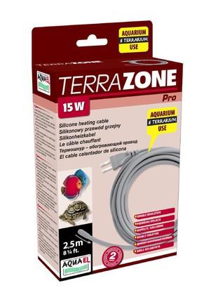 Термокабель для террариума,15Вт, 2,5метра