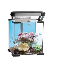 Аквариум морской рифовый NANO REEF LEDDY TUBE 30л черный