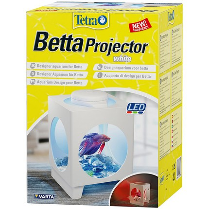 Аквариум Tetra Betta Projector (белый) 1.8л