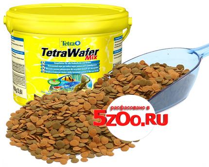Корм для рыбок, фасованный TetraWafer Mix